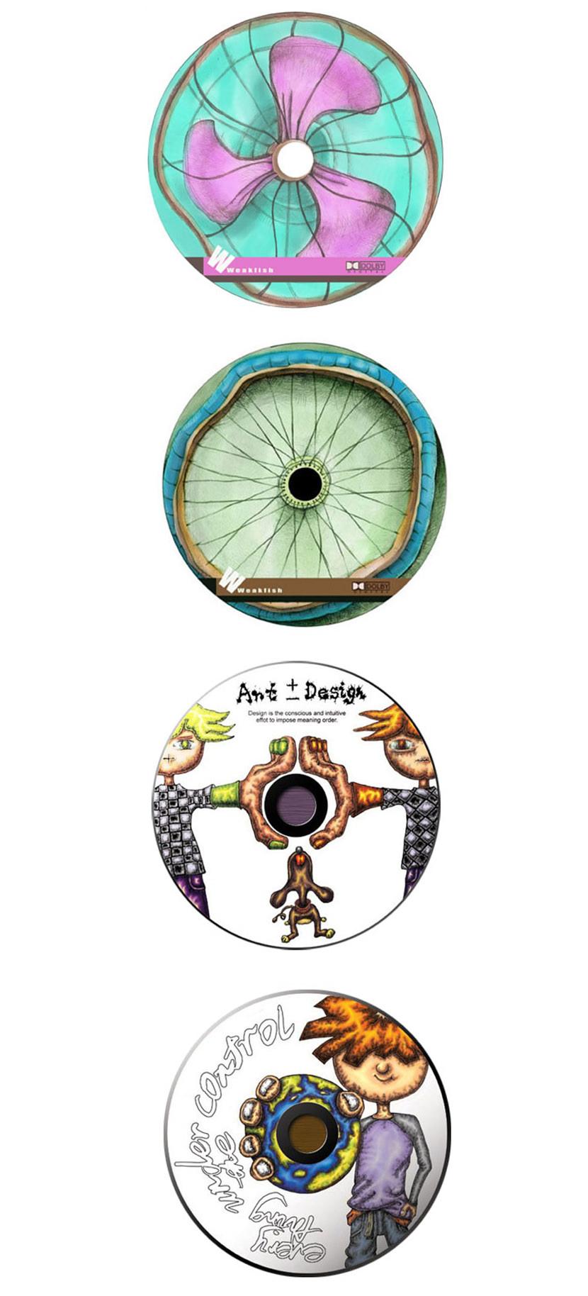16 Creative CD DVD And Blu Ray Disc Album Cover Art Design