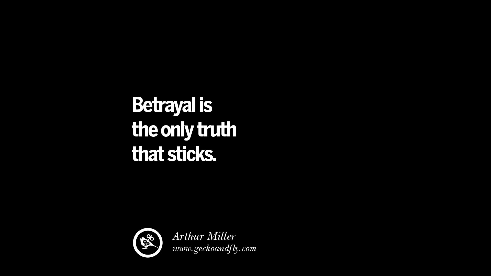 Quotes About Betrayal Trust Love