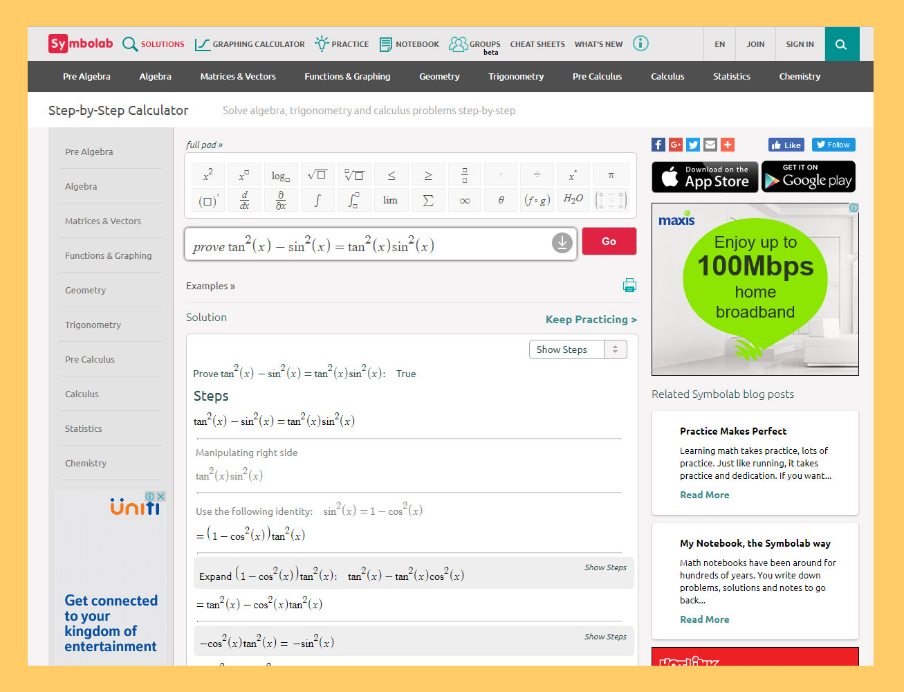 Solve Quadratic Equation Calculator Symbolab