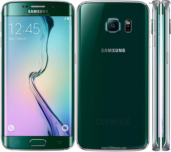 Samsung Galaxy S6 Edge depan