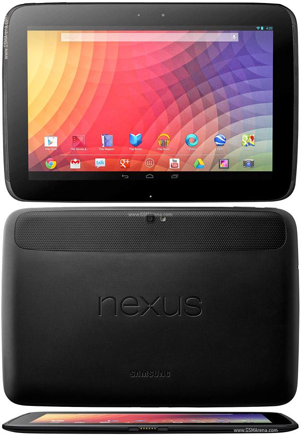 Samsung Google Nexus 10 P8110 Pictures Official Photos