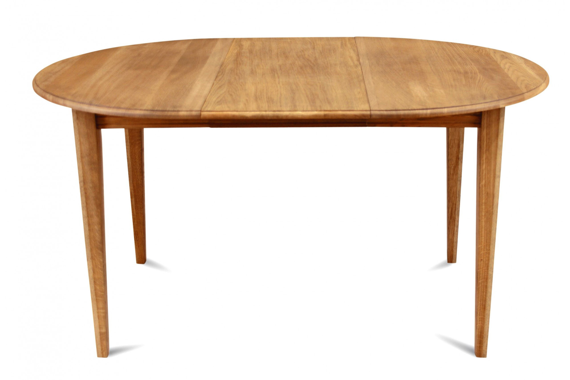 table ronde extensible bois chene massif