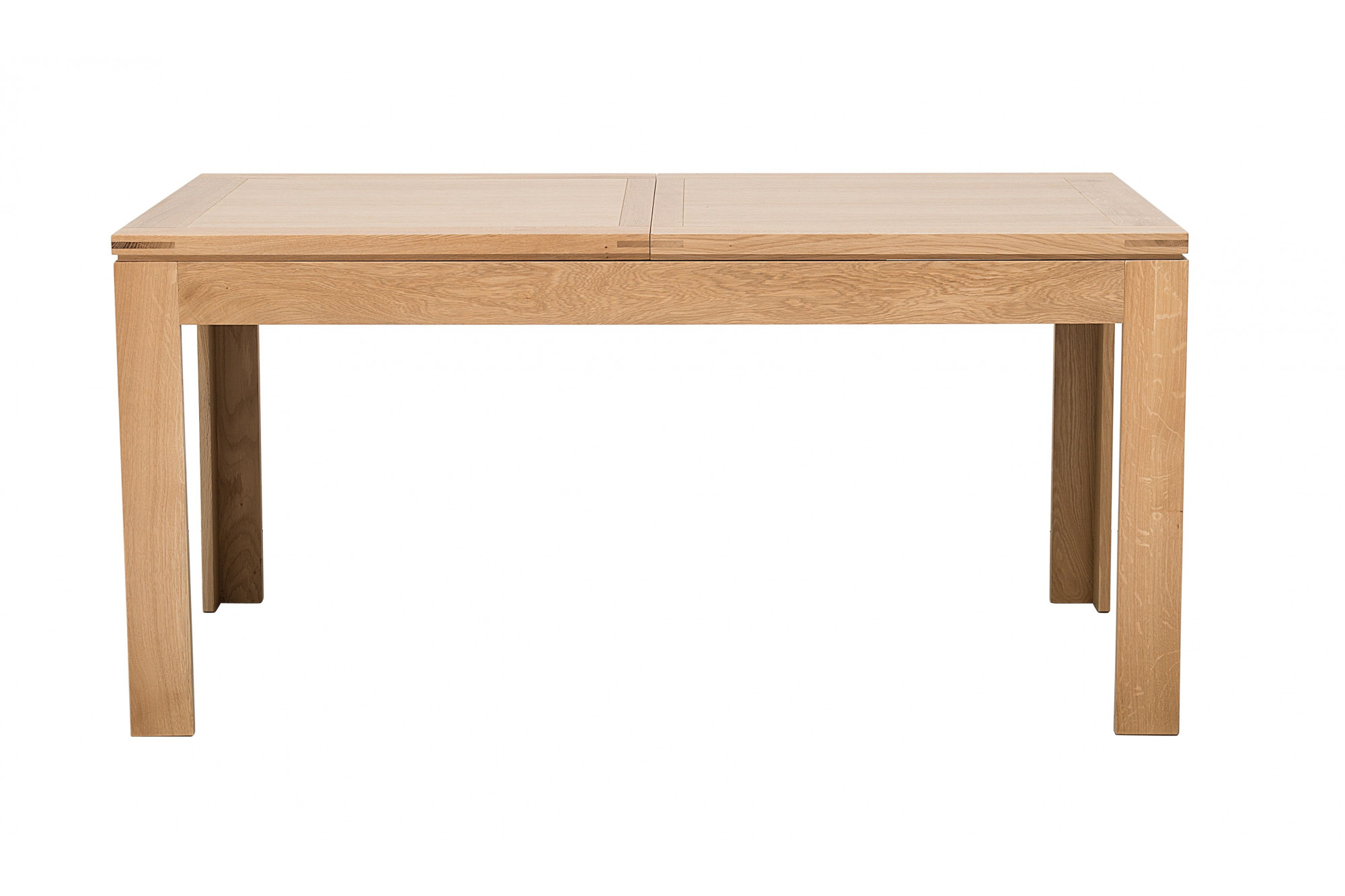 table rectangulaire extensible boston l160 240 en chene clair