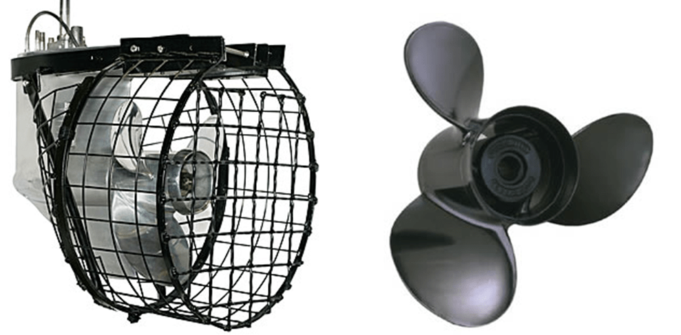 Caged vs. Fixed Propellers