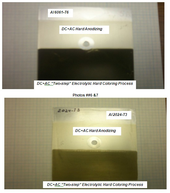 Electrolytic Coloring Of Hard Anodized Aluminum Alloys