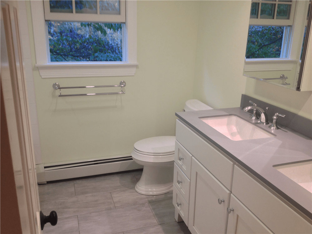 Before Amp After Bathroom Photos