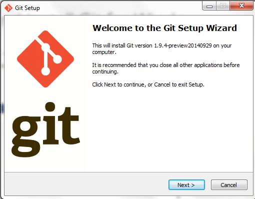 welcome_Git-setup