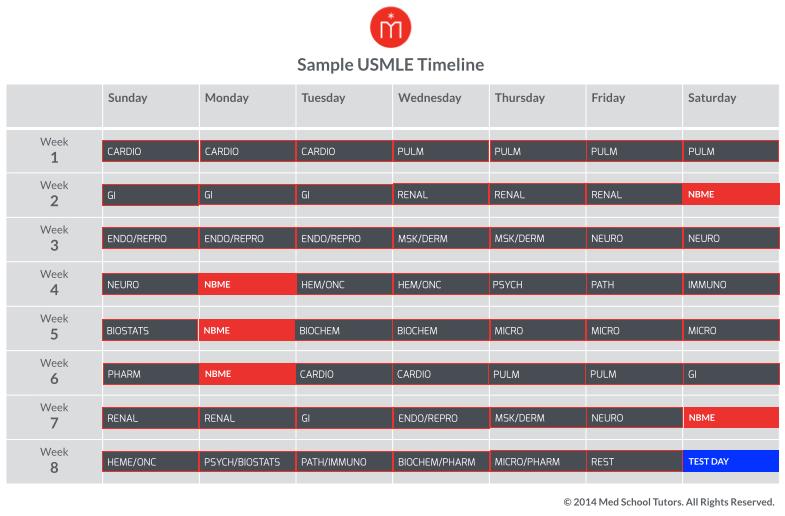 Sample_USMLE_Timeline