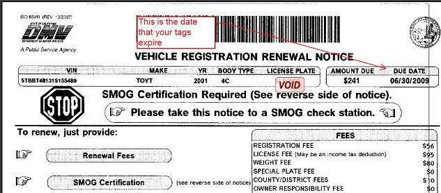How Do I Renew My License Plate