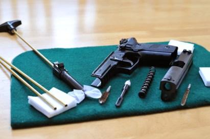 5 Easy Steps to Clean a Firearm
