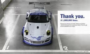 Porsche thankyou