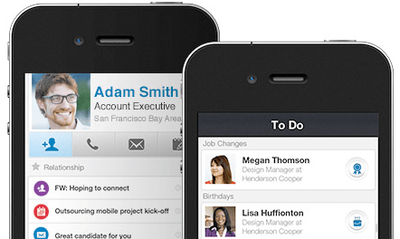 linkedin-contacts-mobile-view