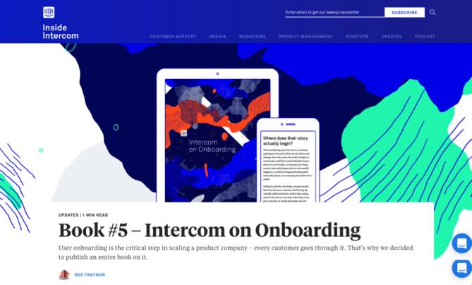 Inside Intercom blog on sales, marketing, and customer conversion