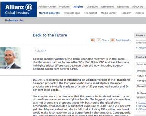 Allianz: Back to the Future