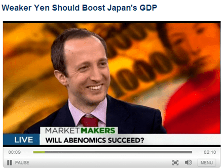 OppenheimerFunds' Alessio de Longis Discusses the Yen