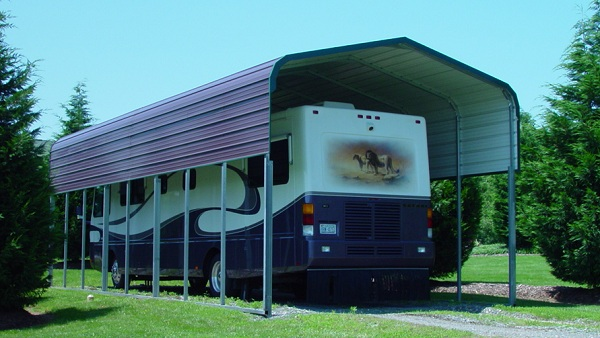Metal RV Carports RV Shelters Alans Factory Outlet