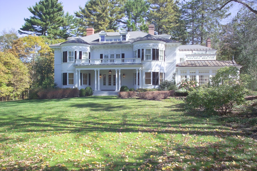 A luxury estate on over 12 acres just outside the center of Lenox.