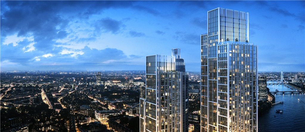One Nine Elms is the glittering pinnacle of the regeneration of London's Battersea district and will be one of the tallest residential developments in Central London.