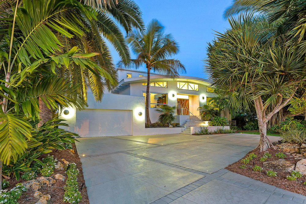 Bayfront Contemporary Home, Sarasota, Florida