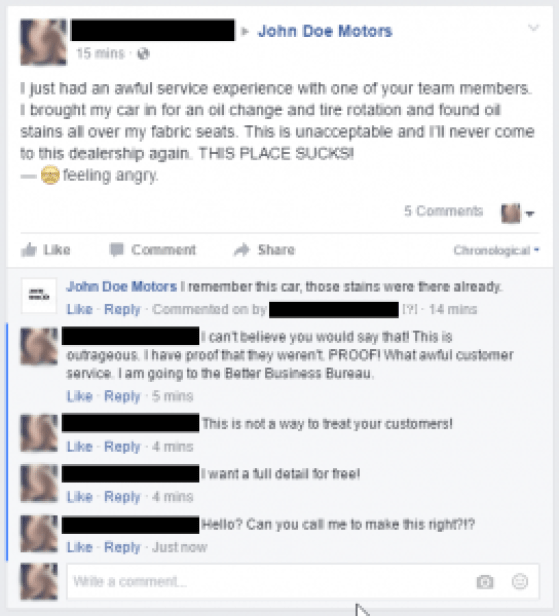 Fake Customer Comments redacted1 - internetiquette