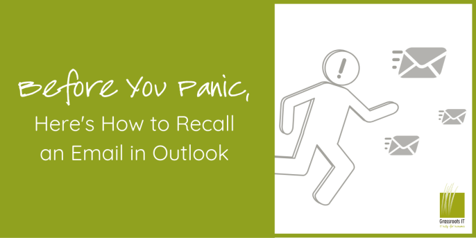 Recall emails on Outlook-1