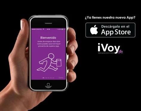 iVoy App mensajería express