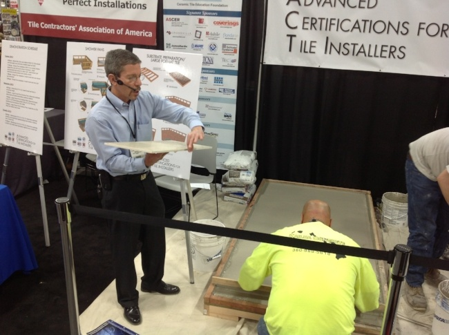 tile installation certification