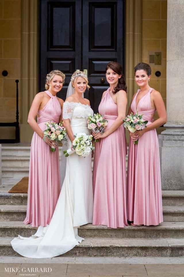 jenna & bridesmaids stunning wedding makeup and hair