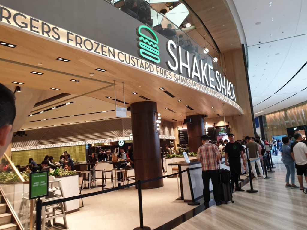 Shake Shack Jewel Changi
