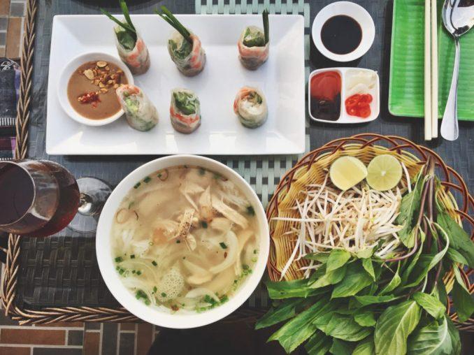 Kyle-Wright-Vietnam-Pho-and-fresh-rolls