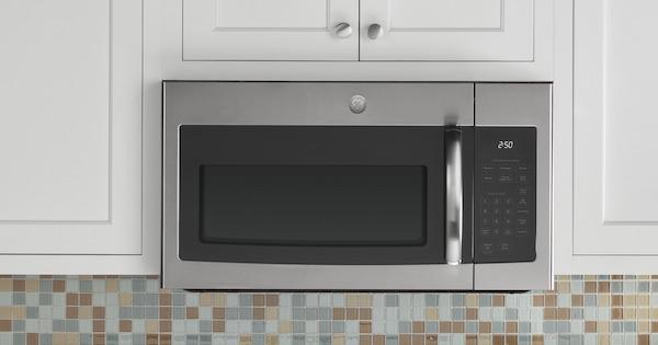 ge spacemaker microwave options