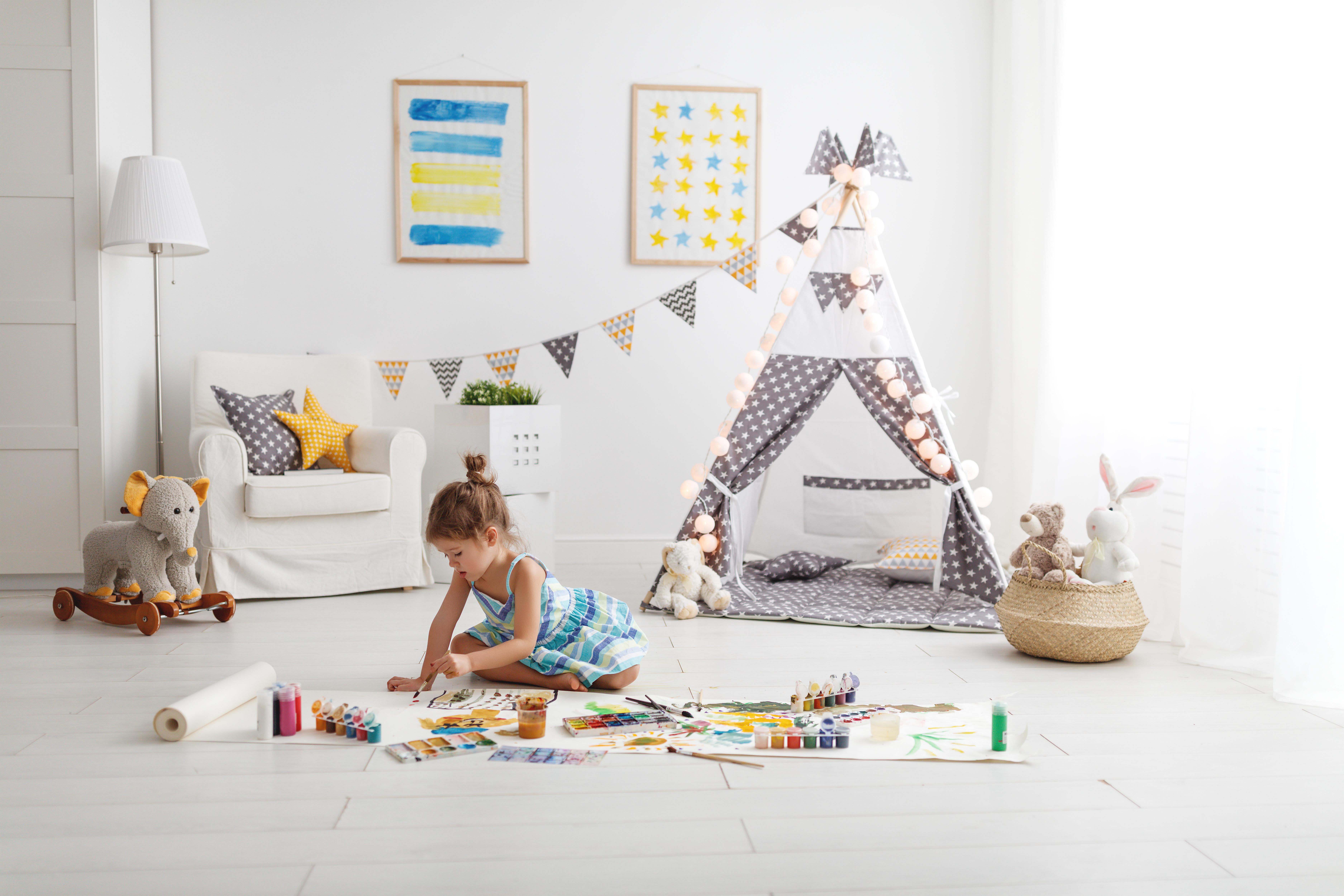 Idee Colorate Per Decorare La Cameretta Dei Bambini
