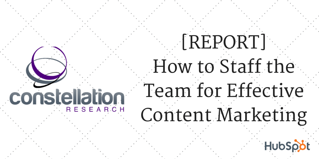 How to Staff the Team for Effective Content Marketing