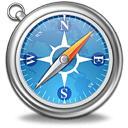 apple, brower, browser, compass, ne, north east, safari icon