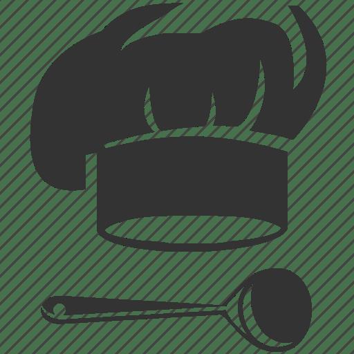 Chef Cook Cooking Kitchen Utensils Ladle Restaurant