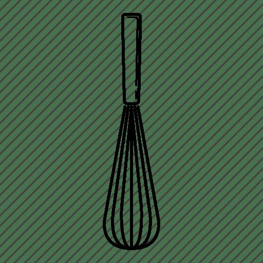 Kitchen Kitchenware Pastry Utensil Whisker Icon