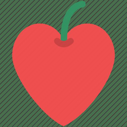 Download Fruit, heart apple, heart fruit, heart shape apple, love ...