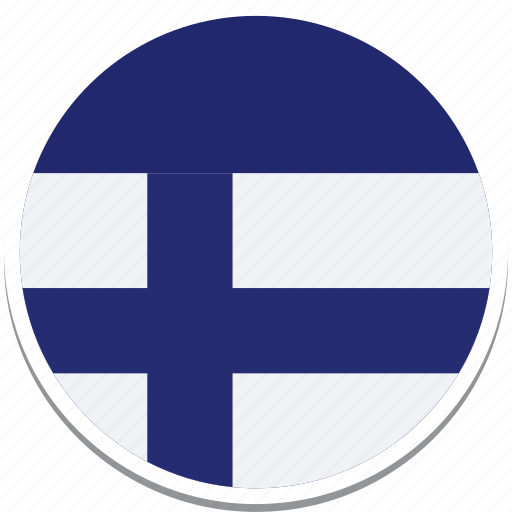 Finland Finlands Flag State Of Finland Flag Finlands Square Flag Flag Of Finland Icon