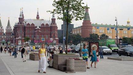 Манежная площадь в Москве. Архивное фото