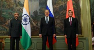Foreign Ministers of Russia, India, China Stress Importance of 'Common Development'