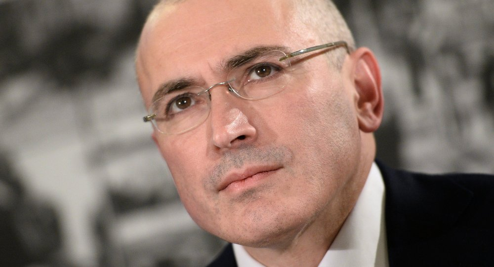 Khodorkovsky spent 10 years in prison for fraud and tax evasion until he was pardoned in December 2013.