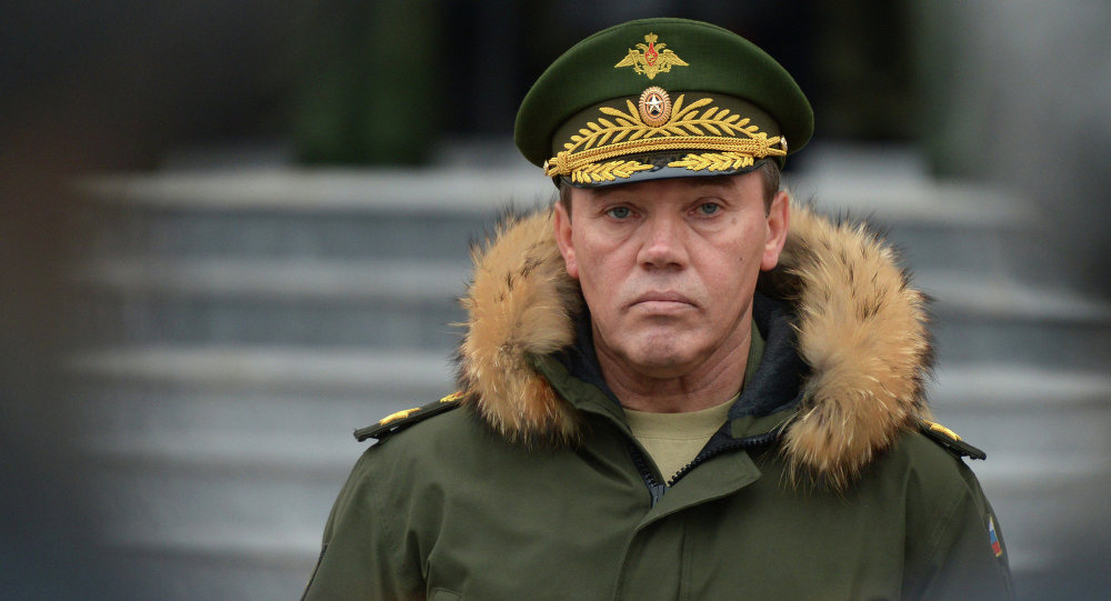 Russian Chief of the General Staff, Gen. Valery Gerasimov