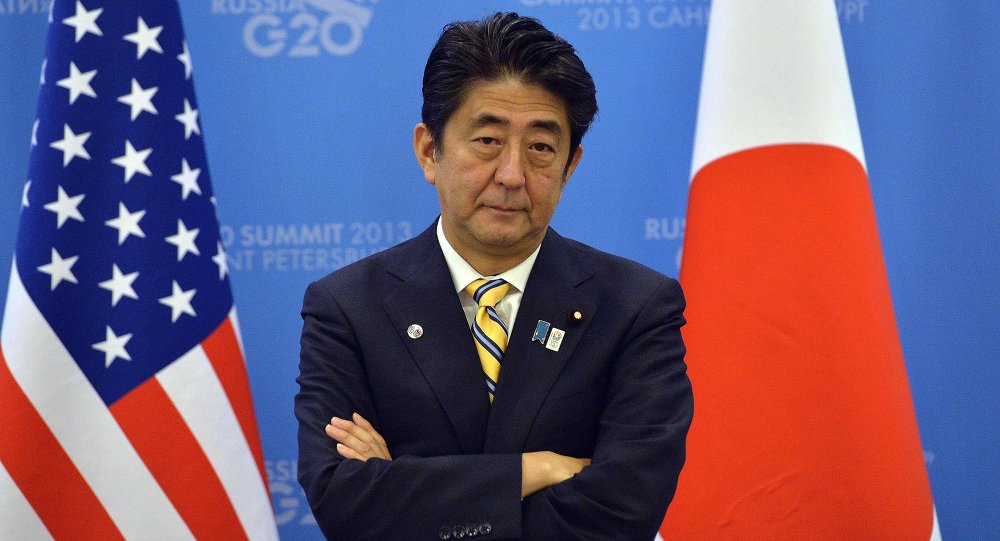 Japan received a tongue-lashing from the United States due to Tokyo's attempts to hold peace and trade talks with Russia, Radio Free Europe reported.