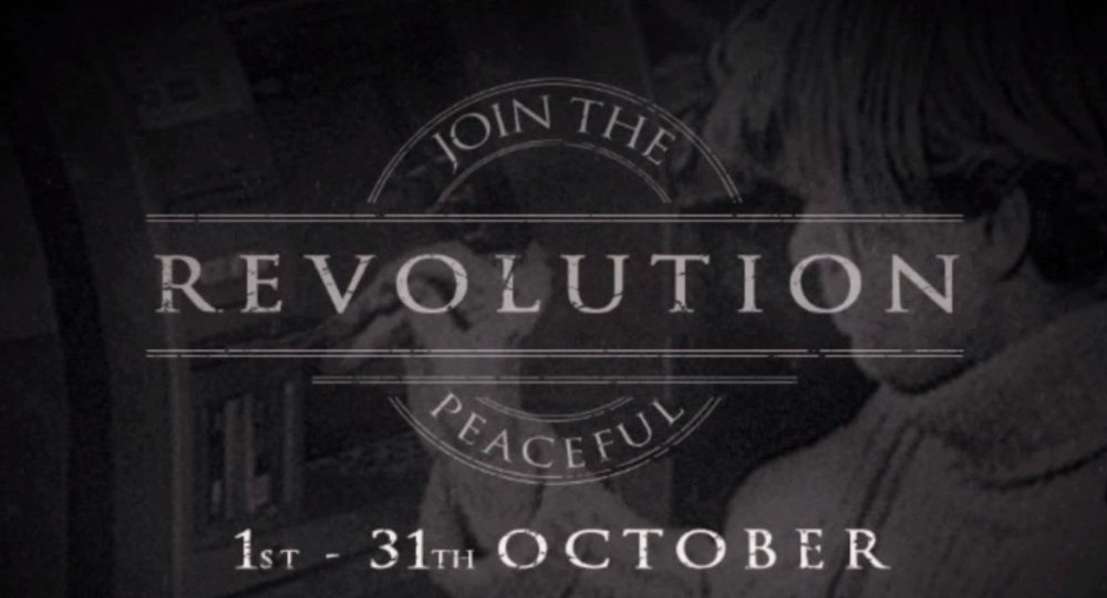Anonymous launches Black October campaign.