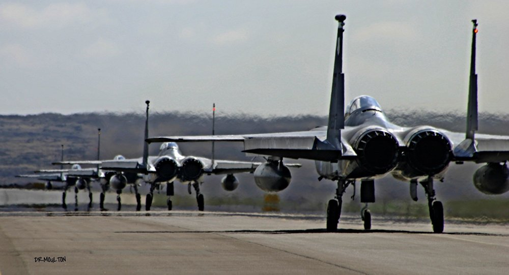 The Pentagon has stationed a new fleet of fighter jets in Turkey.