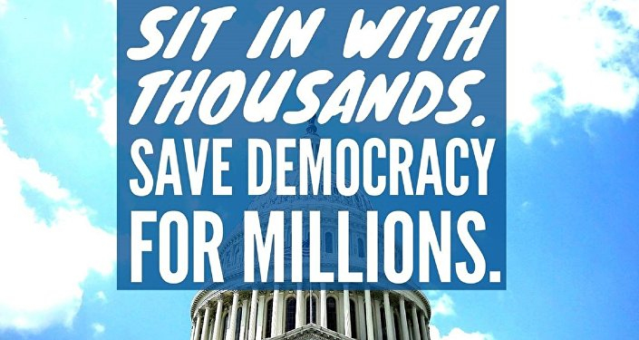 Conservatives Freak Out as 'Democracy Spring' Plans Civil Disobedience Action