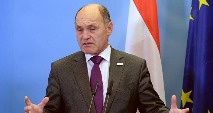 Austrian Interior Minister Wolfgang Sobotka