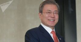 Moon Calls for Maintaining Dialogue With North Korea to Achieve Peace