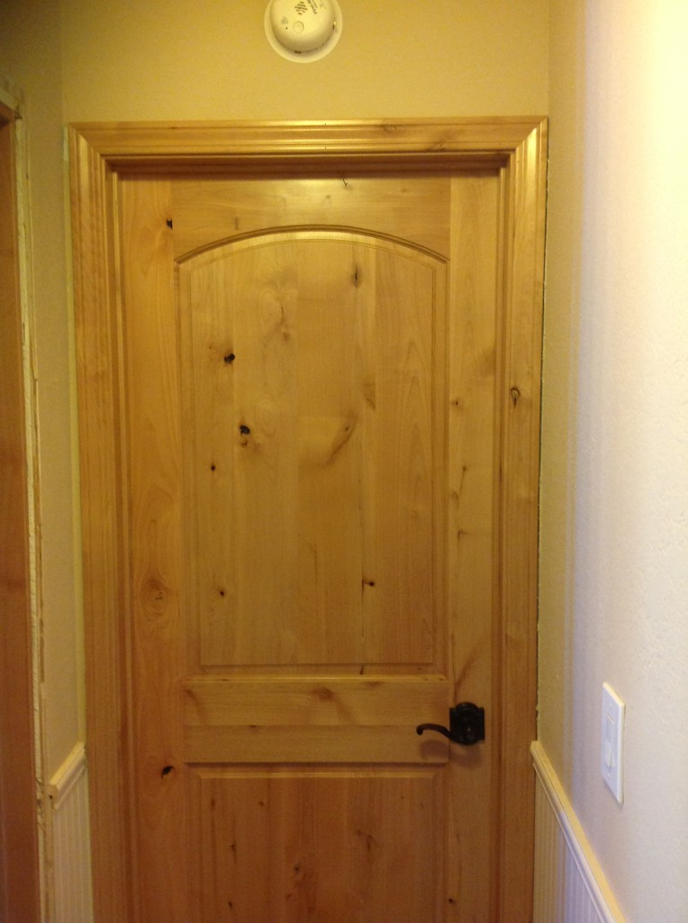 Knotty Alder Interior Doors In San Jose