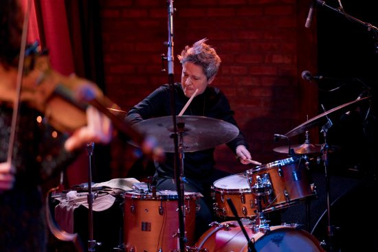 Allison Miller at the 2019 Winter Jazzfest in New York